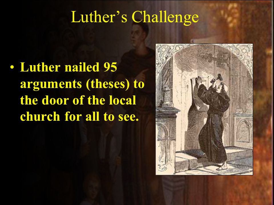 Luther disagreed with indulgences because he said only God could forgive sins, not man.