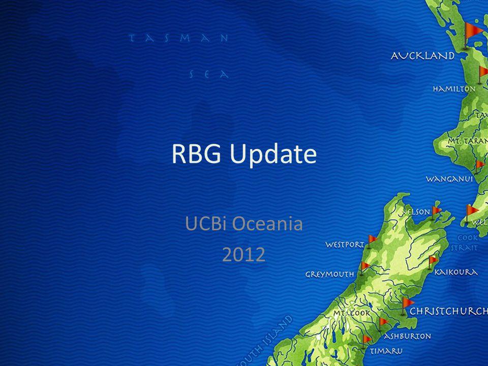 RBG Update UCBi Oceania 2012