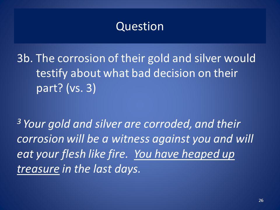 Question 3b.