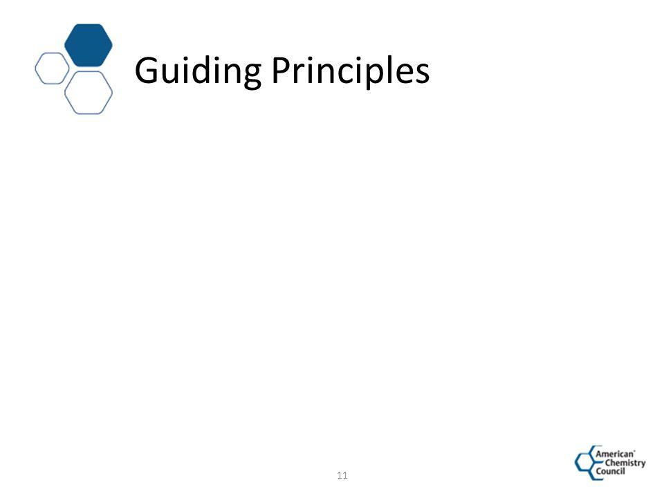 Guiding Principles 11