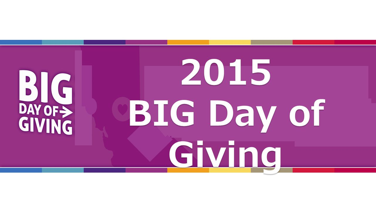 2015 Orientation2015 BIG Day of Giving