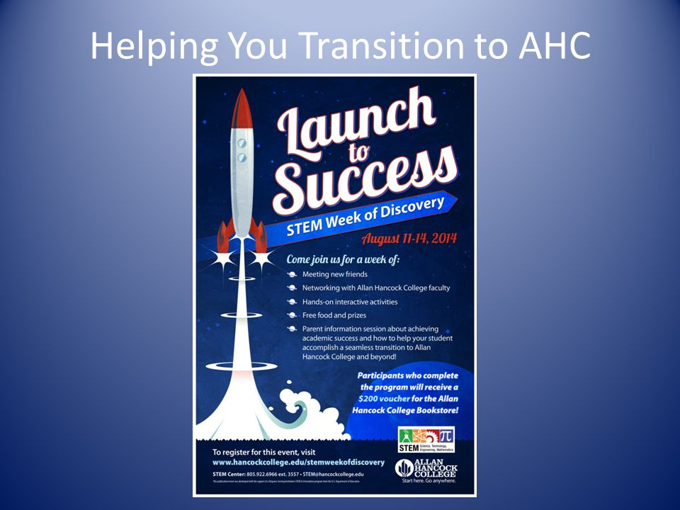 Helping You Transition to AHC