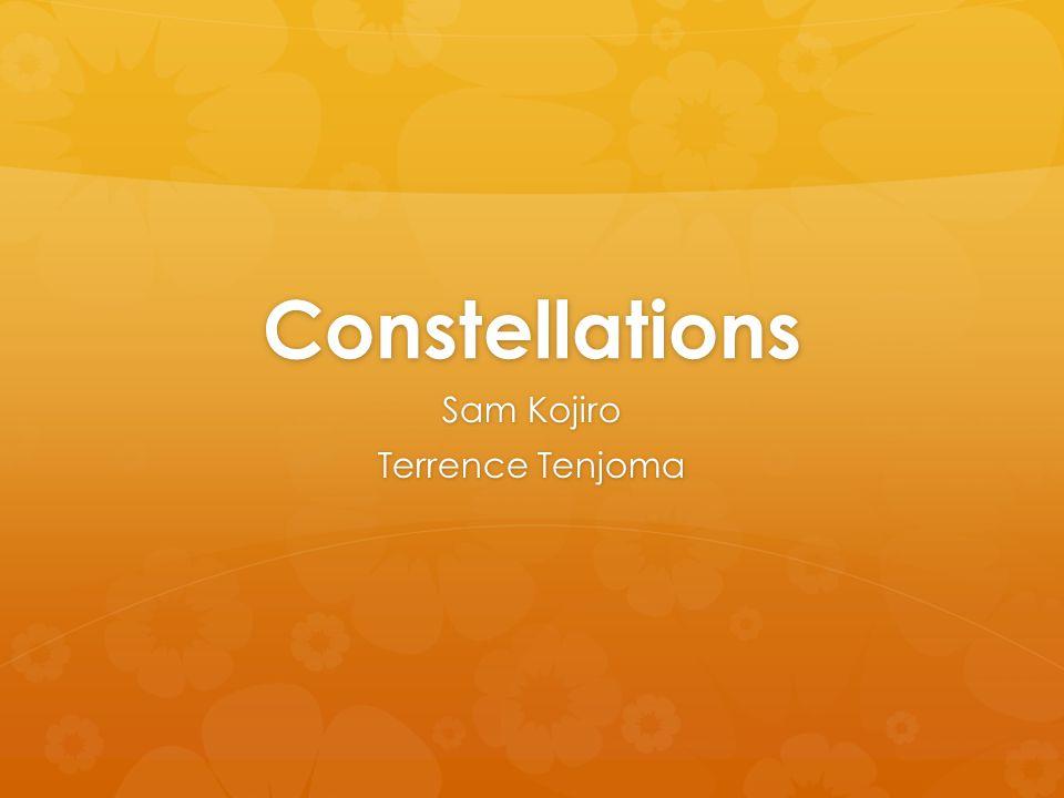 Constellations Sam Kojiro Terrence Tenjoma