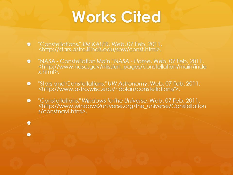 Works Cited 