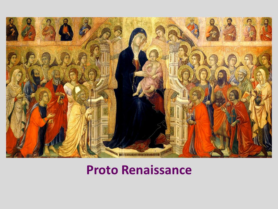 Proto Renaissance Italy - Florence Giotto – The Arena Chapel (1305 to 1306)