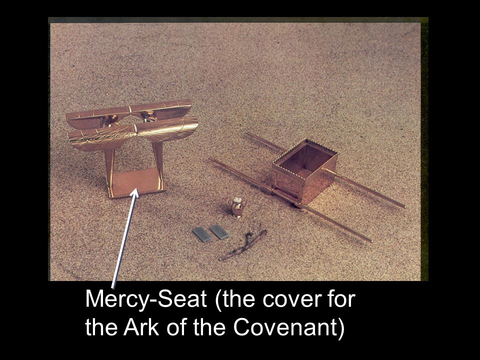 Mercy-Seat (the cover for the Ark of the Covenant)