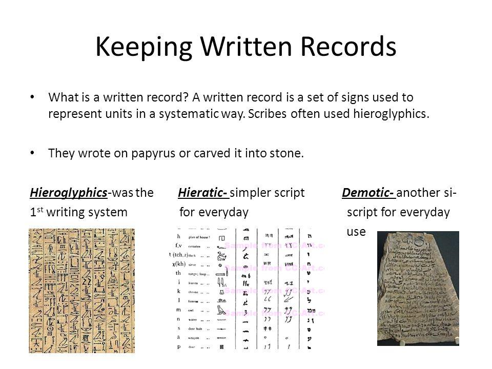Rosetta Stone Dates back to 196 B.C.