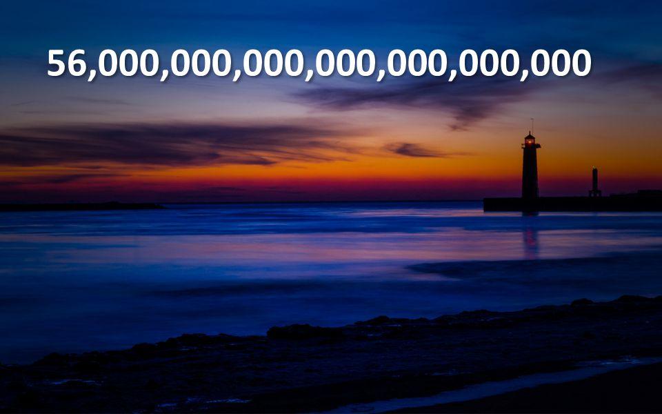 56,000,000,000,000,000,000,000