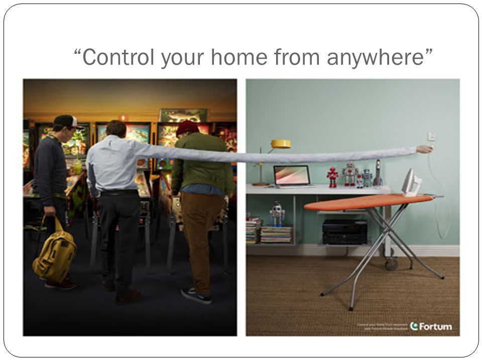 """Control your home from anywhere"""