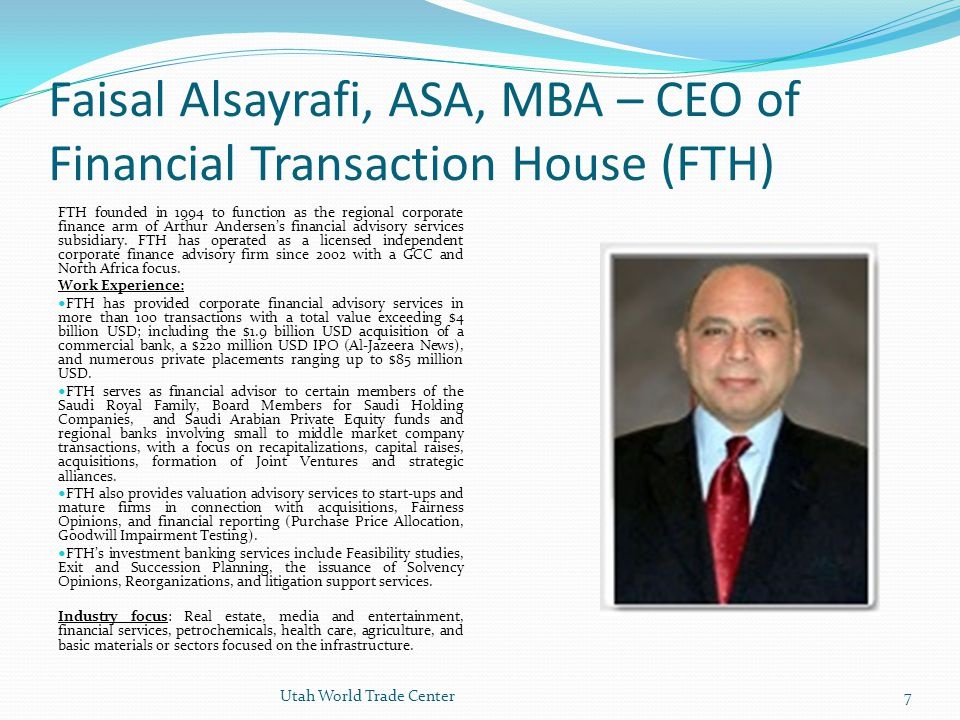 68 INTRODUCTION TO FTH Financial Transaction House was established by Mr.
