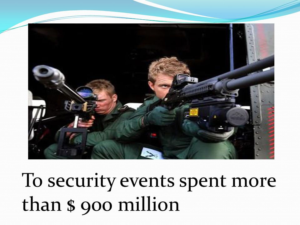 To security events spent more than $ 900 million