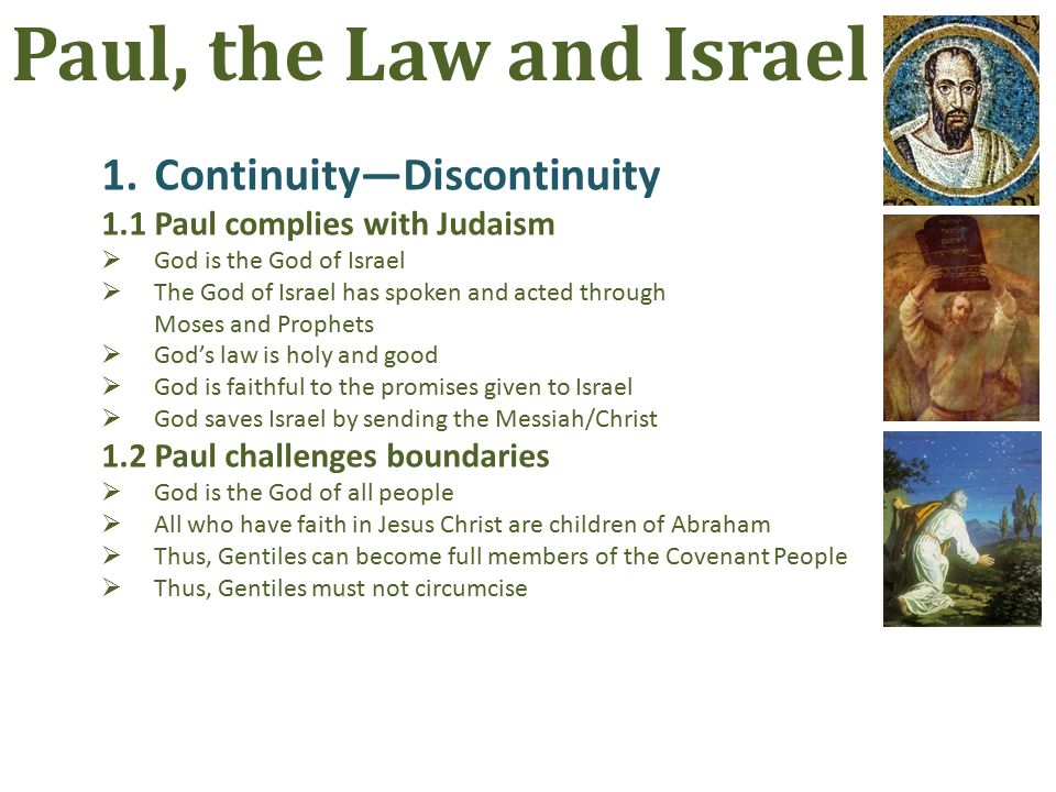 7.For the best of Israel 7.5Some stumble for the salvation of all Instead of solving the logical dilemma, Paul turns to another question: Did they stumble in order to fall.