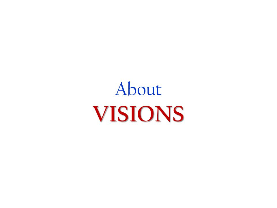 6 AboutVISIONS