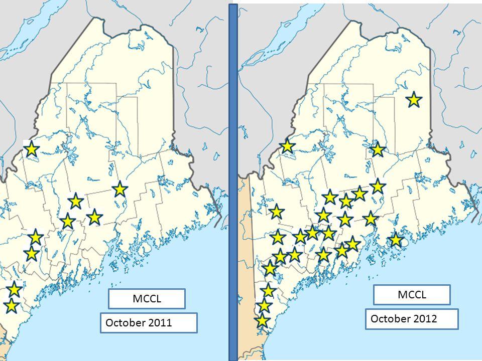 October 2011 October 2012 MCCL