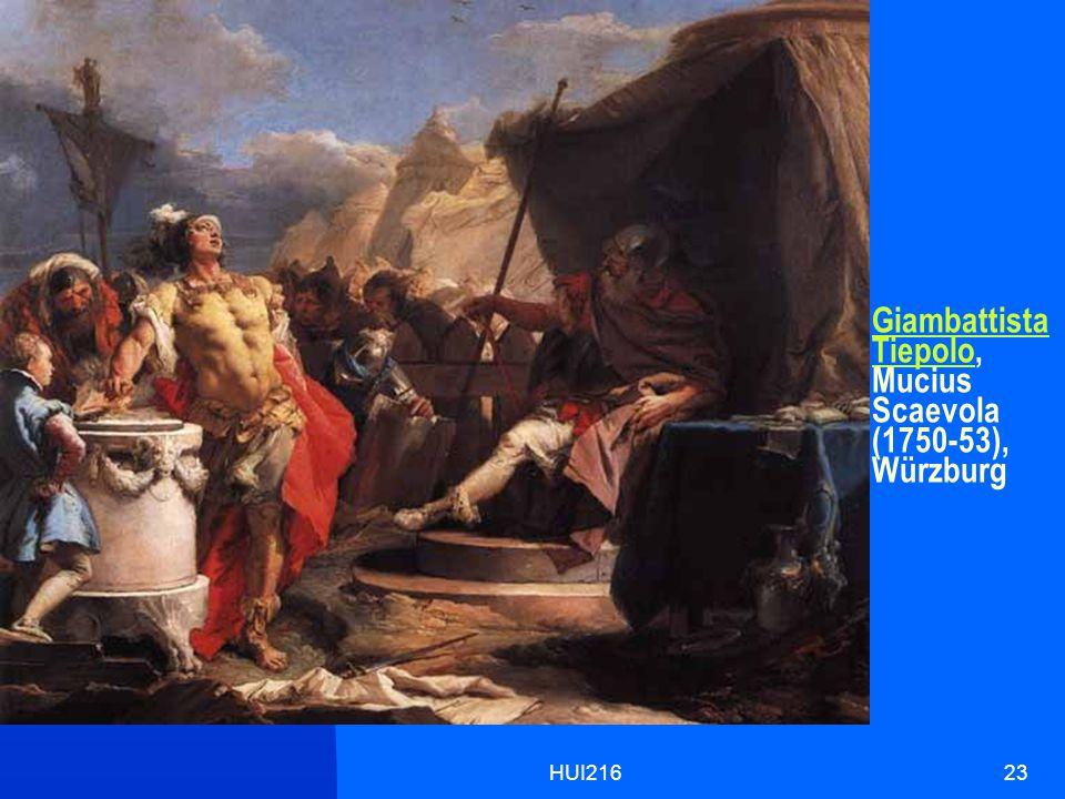 HUI21623 Giambattista TiepoloGiambattista Tiepolo, Mucius Scaevola (1750-53), Würzburg