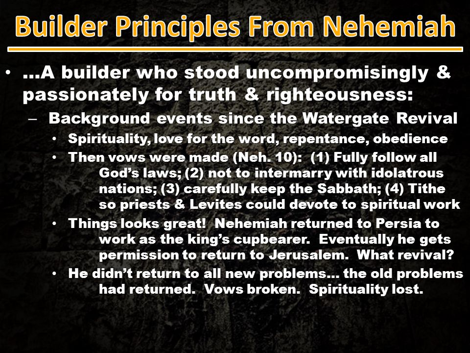 …A builder who stood uncompromisingly & passionately for truth & righteousness: …A builder who stood uncompromisingly & passionately for truth & right