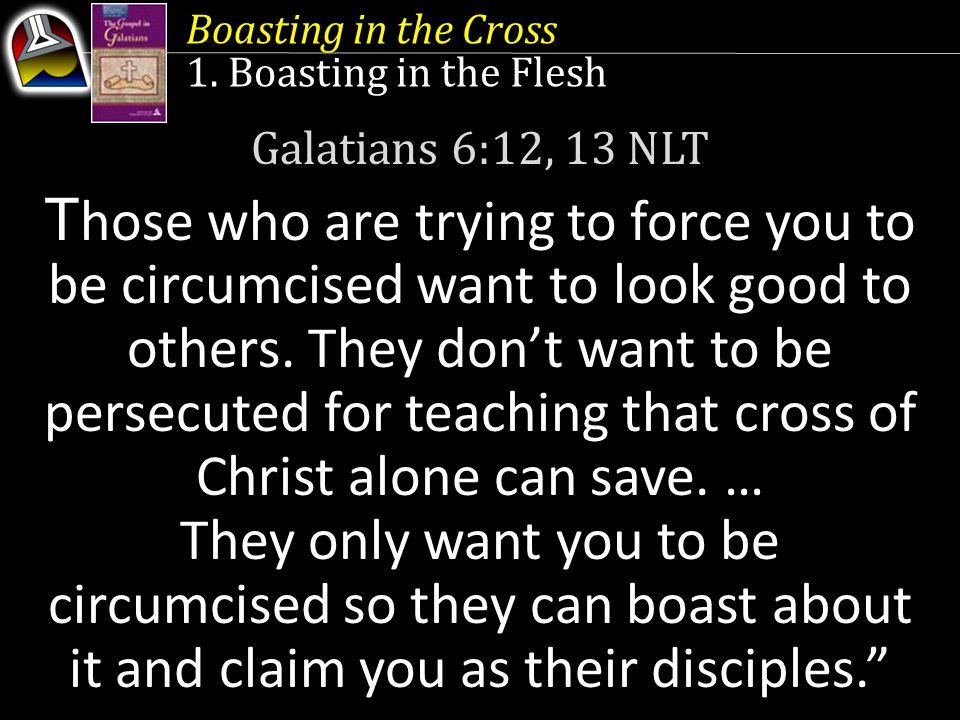 Boasting in the Cross 1.