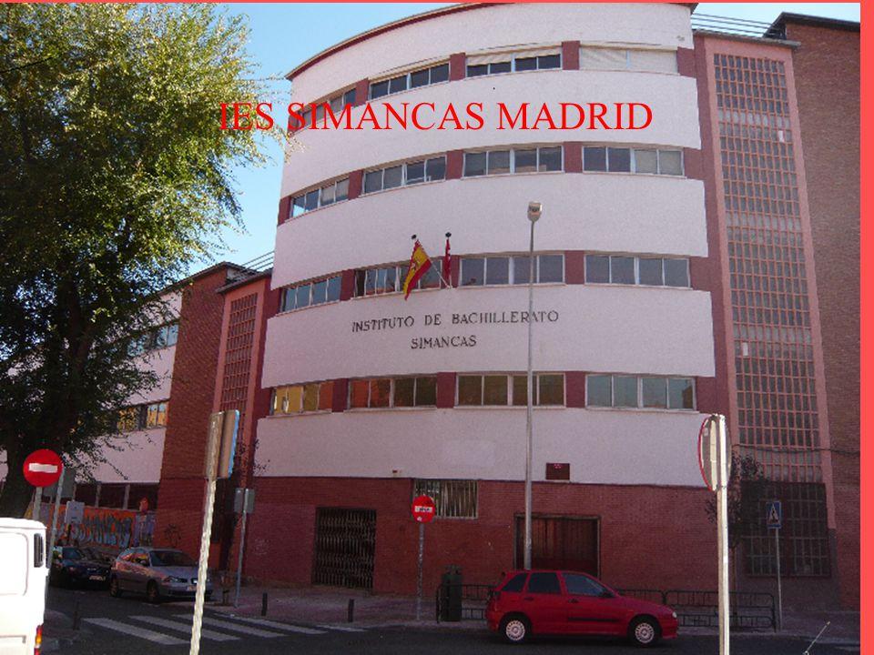 IES SIMANCAS MADRID