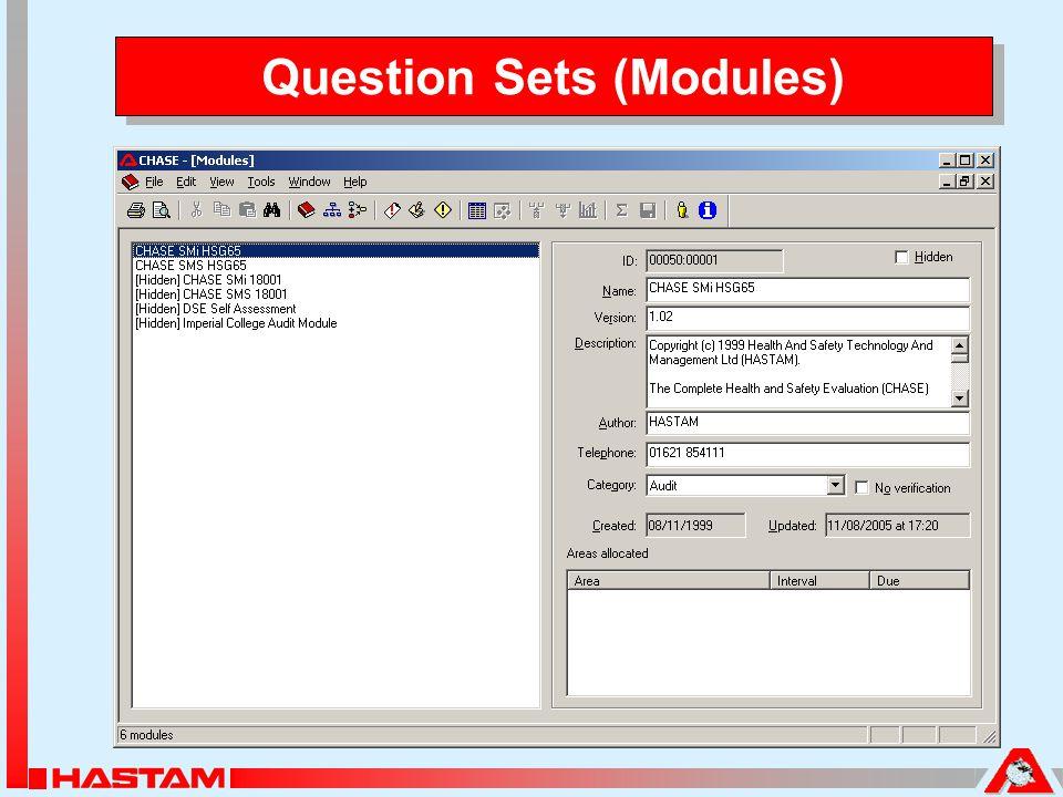 Question Sets (Modules)