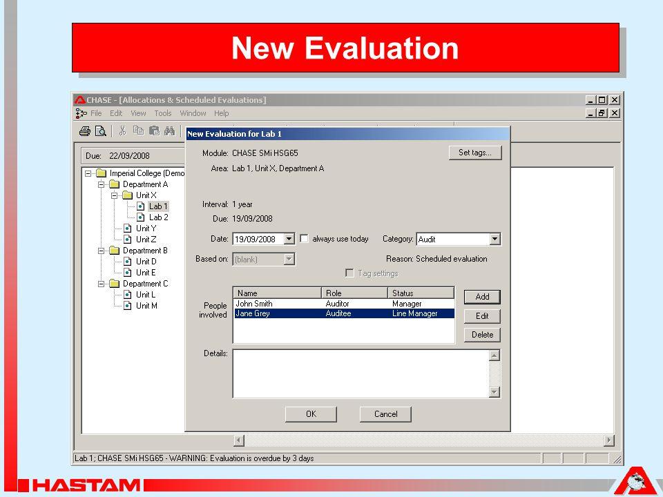 New Evaluation