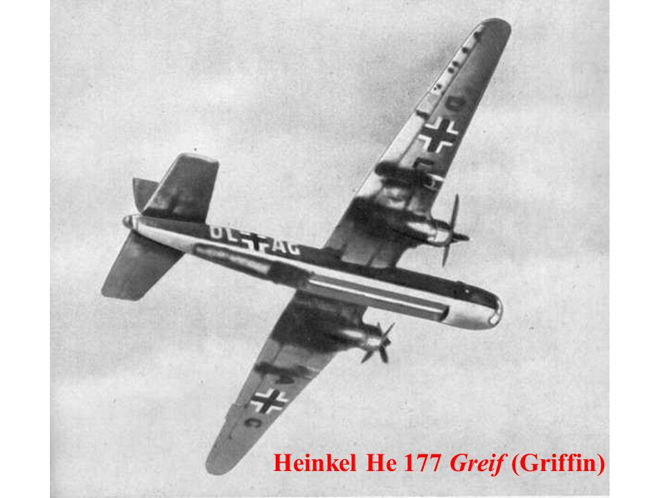 Heinkel He 177 Greif (Griffin)