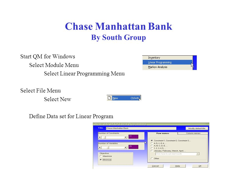 Chase Manhattan Bank By South Group Changing to 60% Cost: $2,485.83 Changing to 80% Cost: $2,382.08 As the percentage increases, the cost decreases.