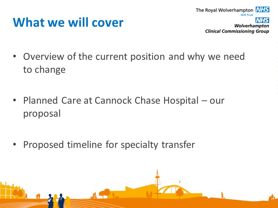 Your views This is your chance to tell us your hopes or concerns about the proposals we have explained this evening.