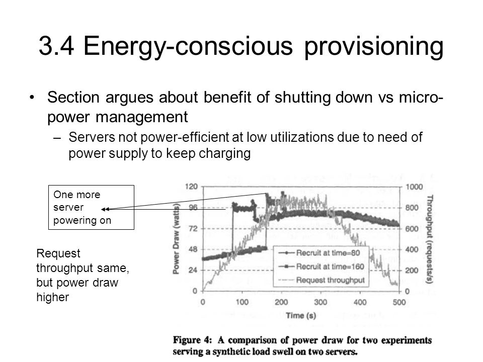 3.4…Energy conscious provisioning Interesting table.
