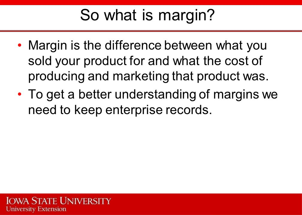 Pricing The second way of increasing profit margin per unit sold is increasing the price of the product.