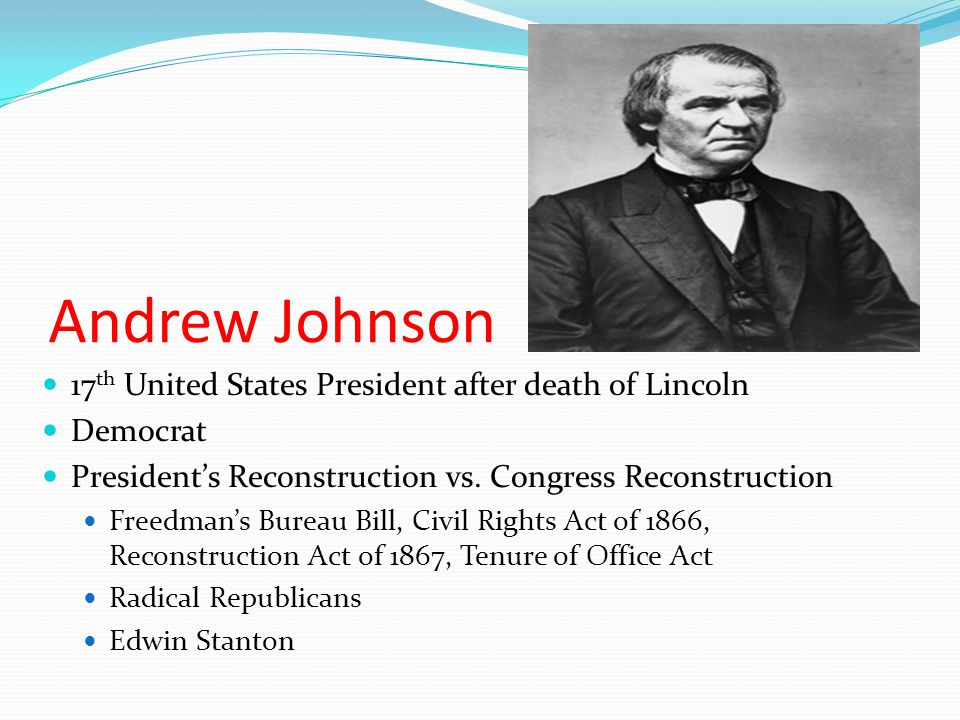 Johnson Impeached Impeachment Number 1 Complaints filed against the president Failed House vote…108-57 Impeachment Number 2 11 Articles Filed Supreme Court Justice Salmon P.