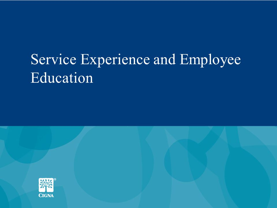 22 Service Experience and Employee Education