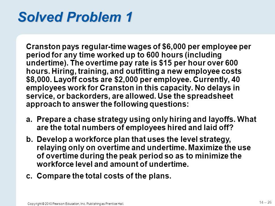 14 – 26 Copyright © 2010 Pearson Education, Inc. Publishing as Prentice Hall.