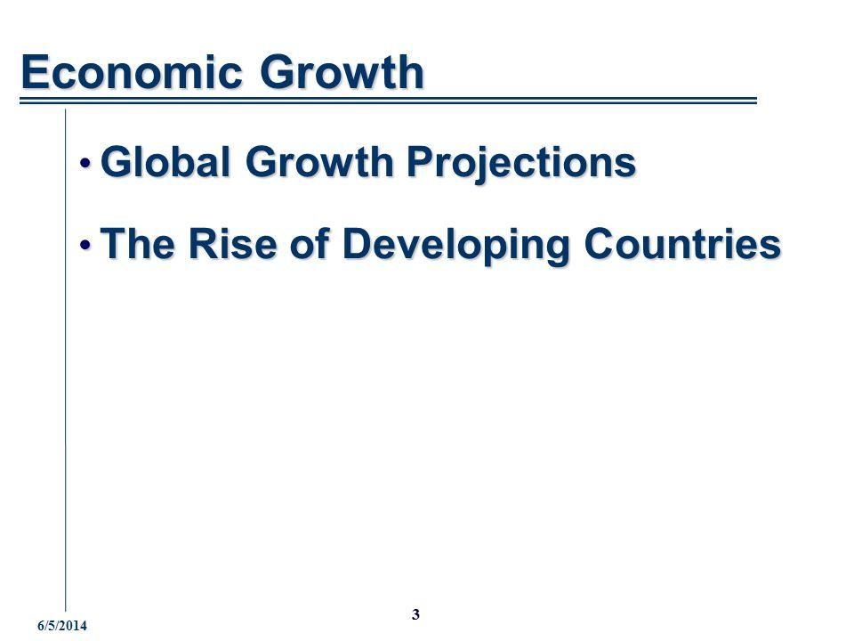 4 J.P.Morgan Chase 6/5/2014 Global GDP Growth