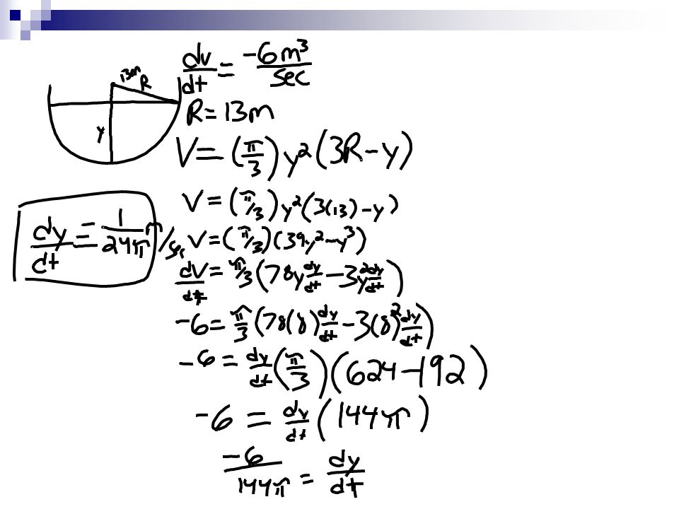 What you'll learn about Related Rate Equations Solution Strategy Simulating Related Motion Essential Questions How do we solve related rate problems by calculus?