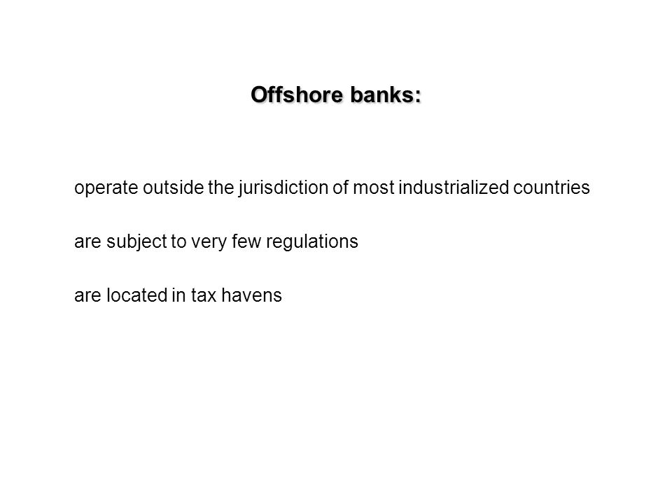 Offshore investing spawned an entire culture The