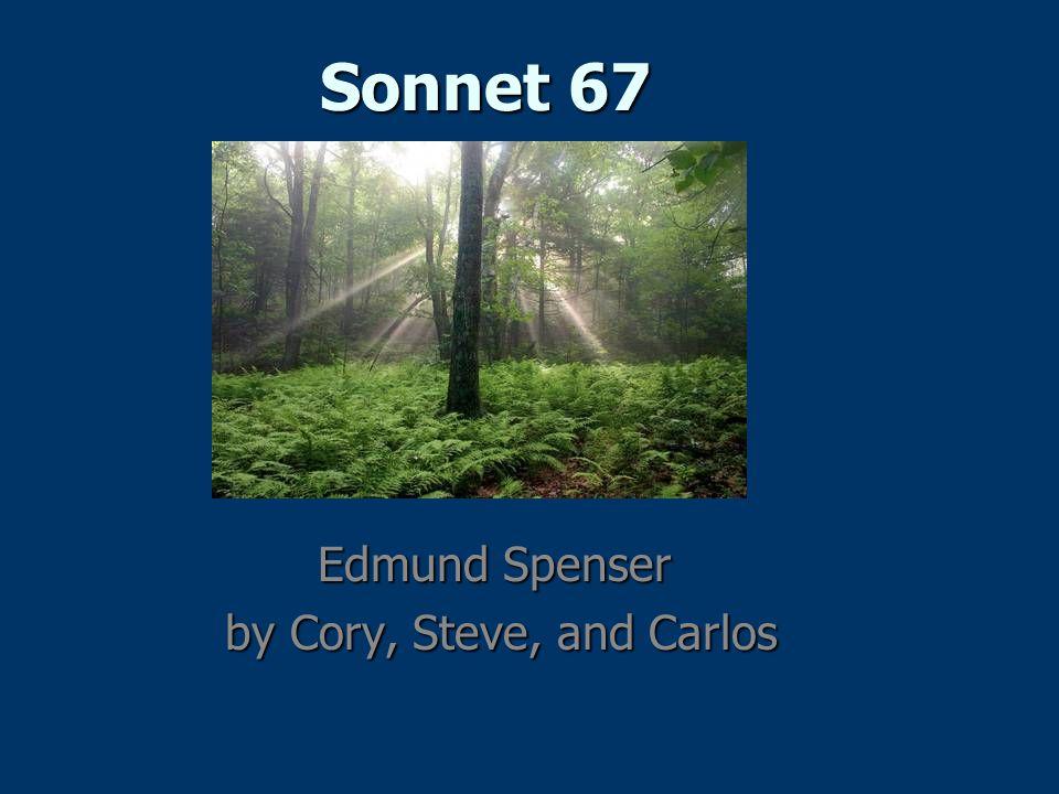 Edmund Spenser c.1552 –1599 c.