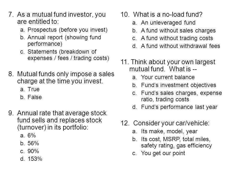 US mutual fund market …