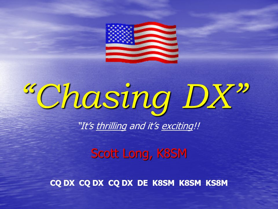 There are several DX organizations that support DXpeditions and supply us with details and information about DXpeditions.