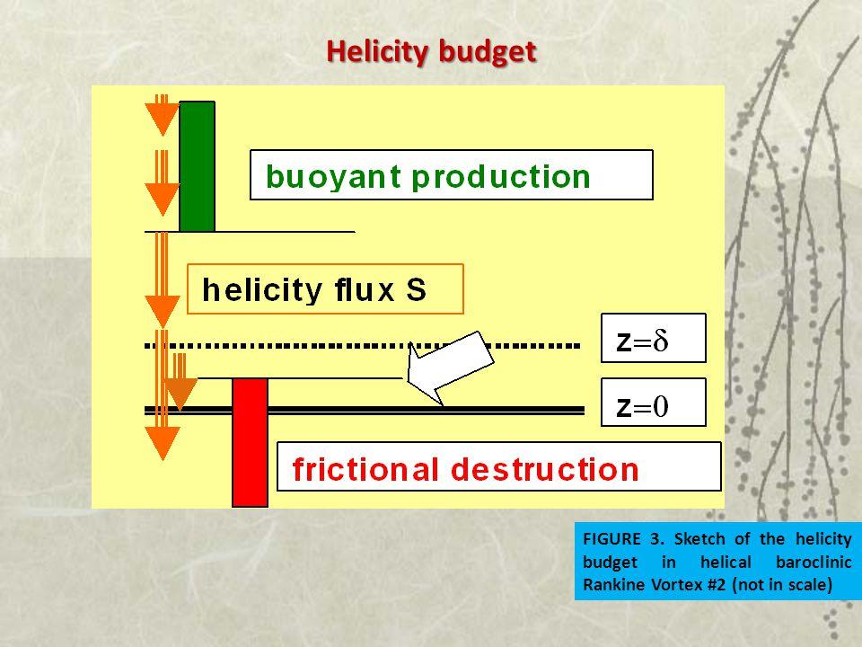 Helicity budget FIGURE 3.