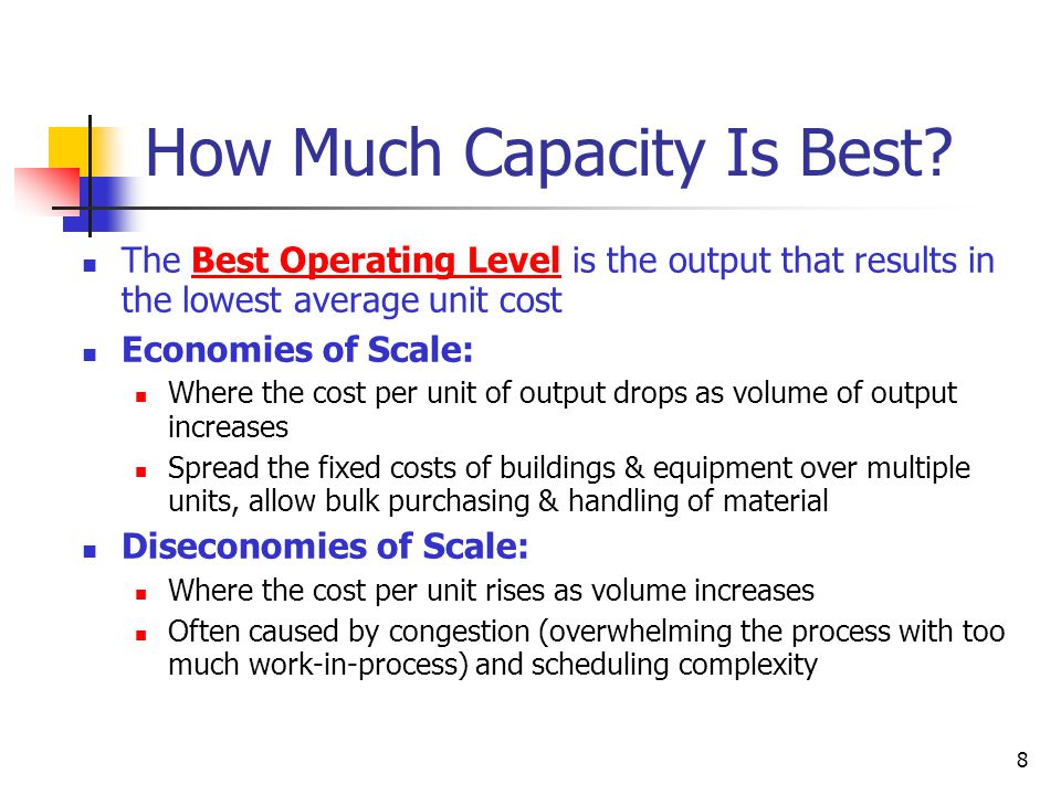 8 How Much Capacity Is Best.