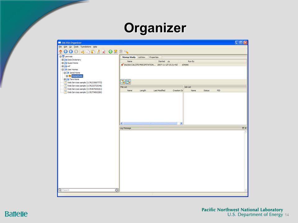 14 OrganizerOrganizer