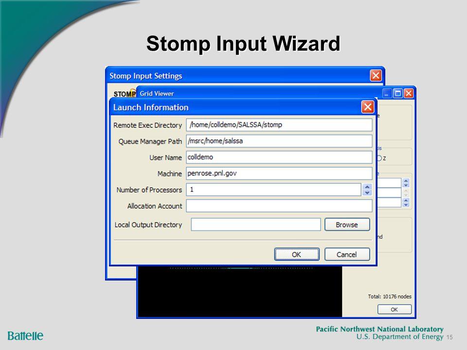 15 Stomp Input Wizard
