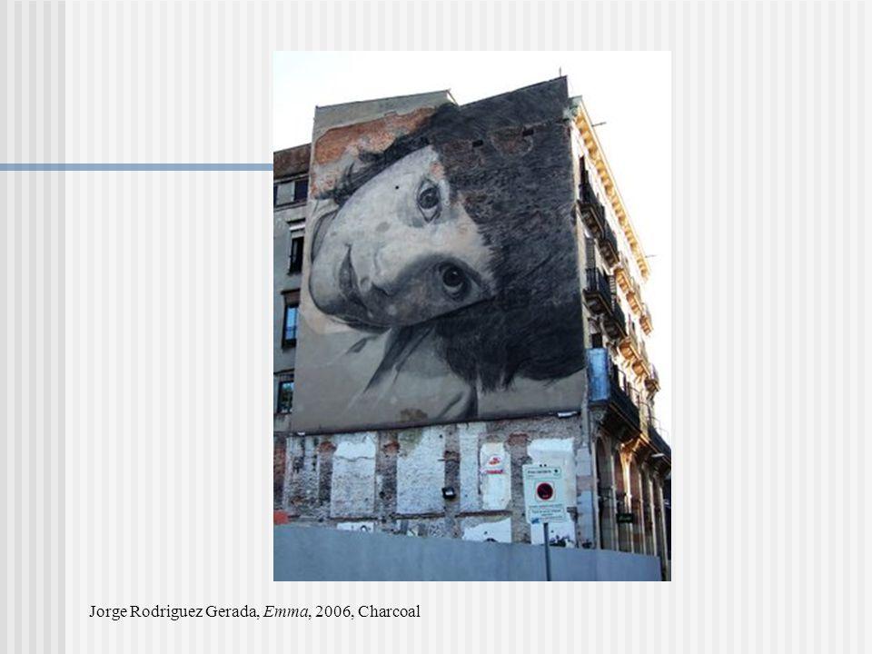 Jorge Rodriguez Gerada, Emma, 2006, Charcoal