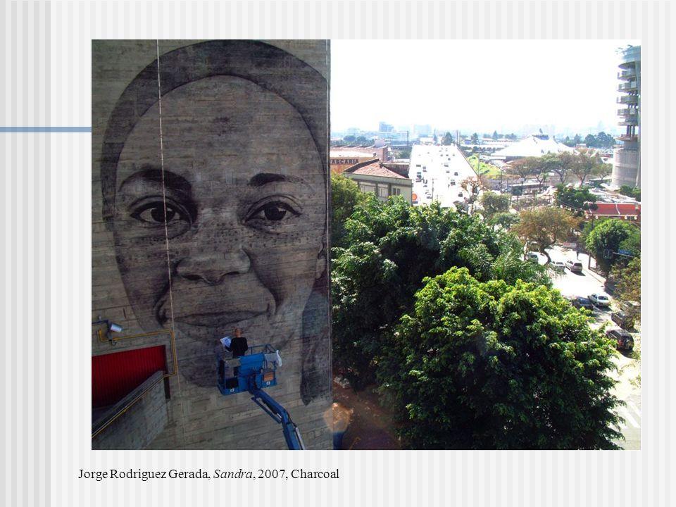 Jorge Rodriguez Gerada, Sandra, 2007, Charcoal