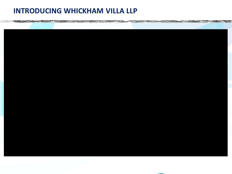 INTRODUCING WHICKHAM VILLA LLP