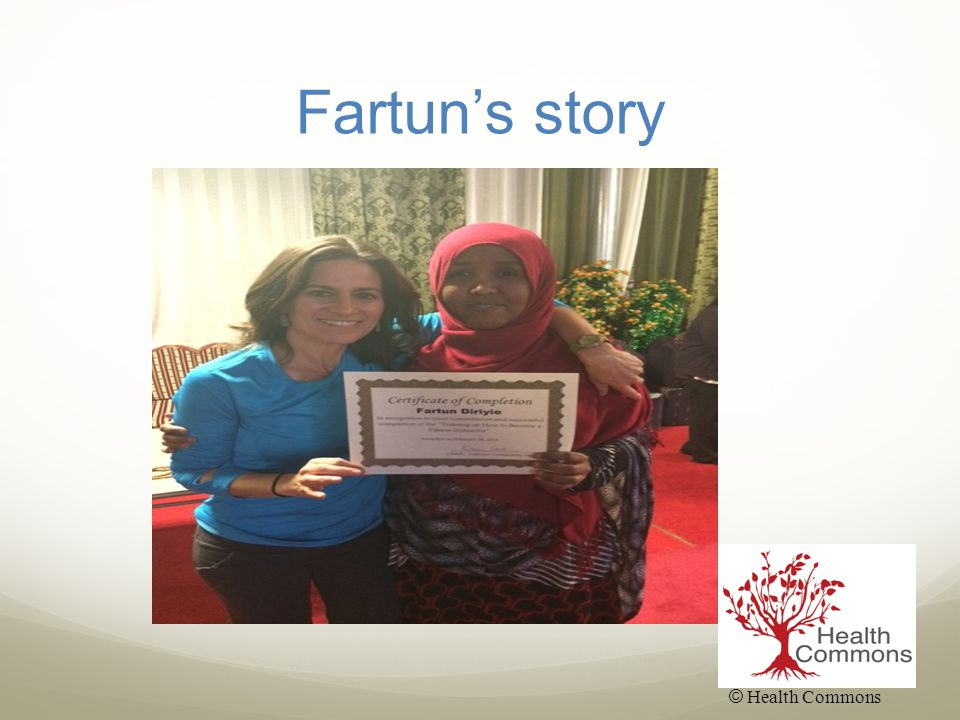 Fartun's story © Health Commons