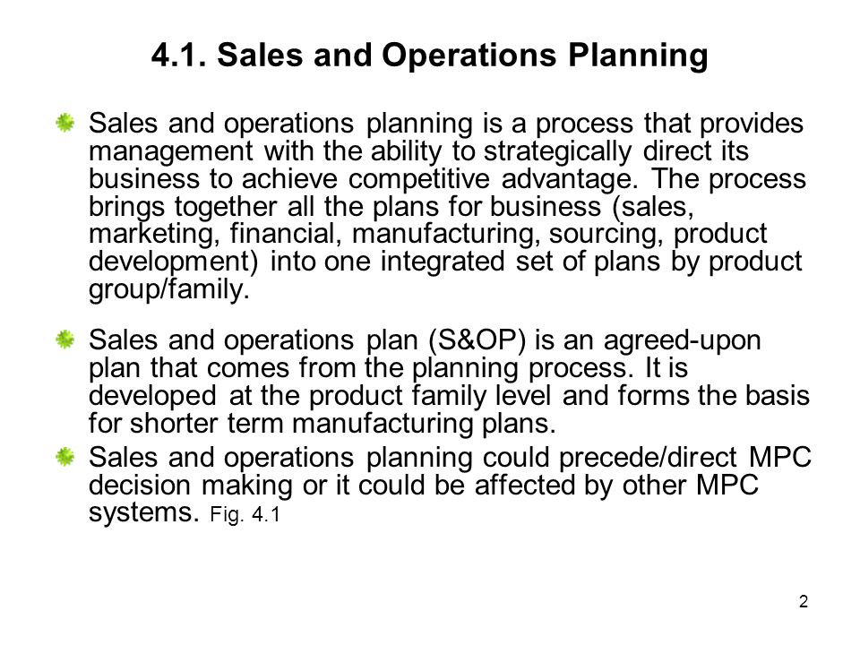 13 Figure 4.7 Level Plan explanations 1.Level operations strategy is to maintain a constant workforce.
