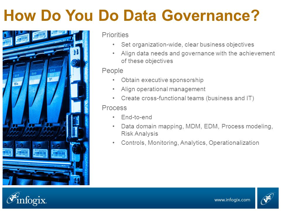 How Do You Do Data Governance.