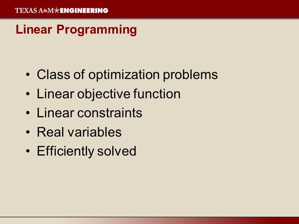 Aggregate Planning LP Parameters : –c H, c F –c I –c R –c O, c U, c S