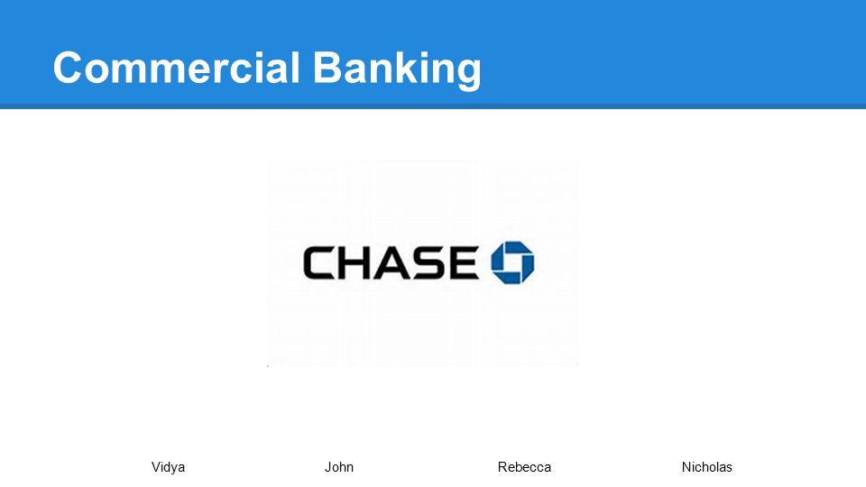 Commercial Banking VidyaJohnRebecca Nicholas